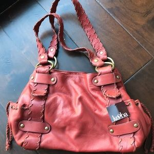 Kooba leather Sienna satchel
